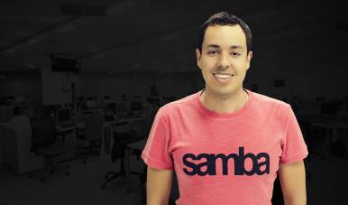 Na imagem, Gustavo Caetano, CEO da Sanmbatech, e um dos Estudos de Caso do meuSucesso