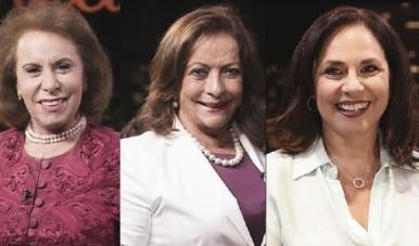 Na imagem, Janete Vaz (laboratório Sabin); Sandra Costa (Laboratório Sabin), Carla Sarni (Sorridents); Sofia Esteves (Cia de Talentos)