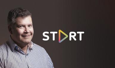 Na imagem, veja o logo do curso Start, do meuSucesso.com, ao lado do professor e especialista, MArcelo Pimenta, que ministra as aulas.